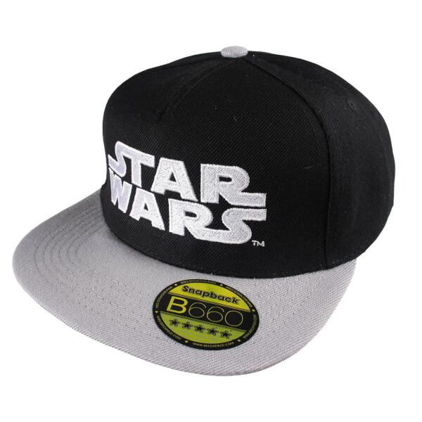 Star Wars Men's Logo Cap - Black/Grey