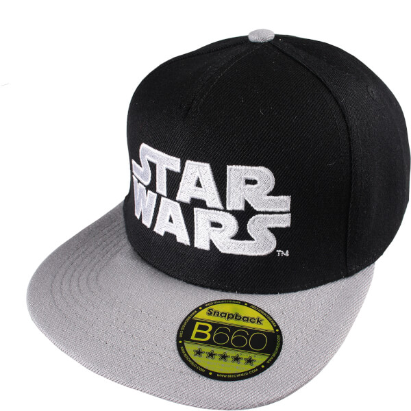 Star Wars Men's Logo Cap - Black/Grey