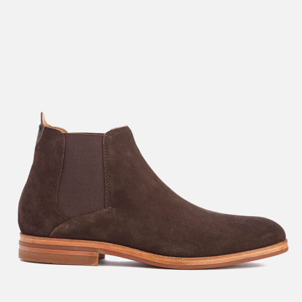 Hudson London Men's Tonti Suede Chelsea Boots - Brown