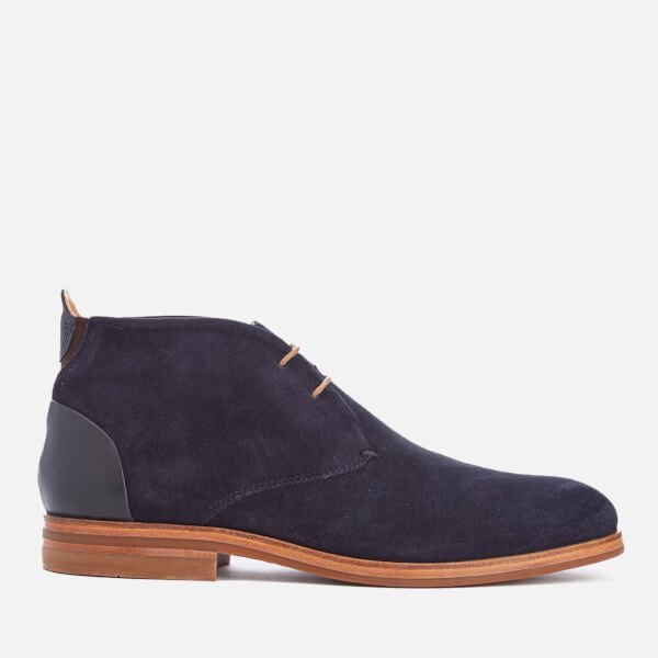 Hudson London Men's Matteo Suede Chukka Boots - Navy