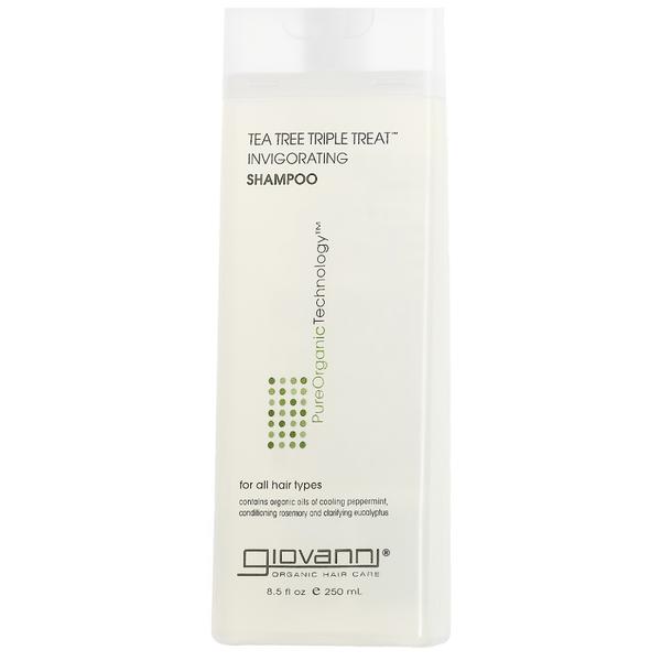 Giovanni Tea Tree Triple Treat Shampoo 250ml