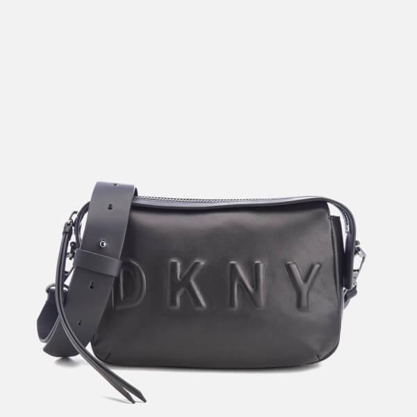 DKNY Women s Debossed Logo Cross Body Bag - Black Womens ... 57384d911663b