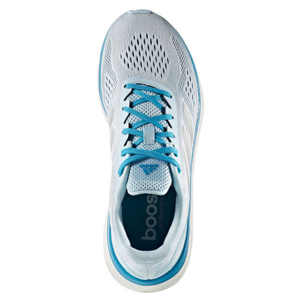 Adidas  mujer 's Response LT zapatillas de deportes de hielo azul / plata
