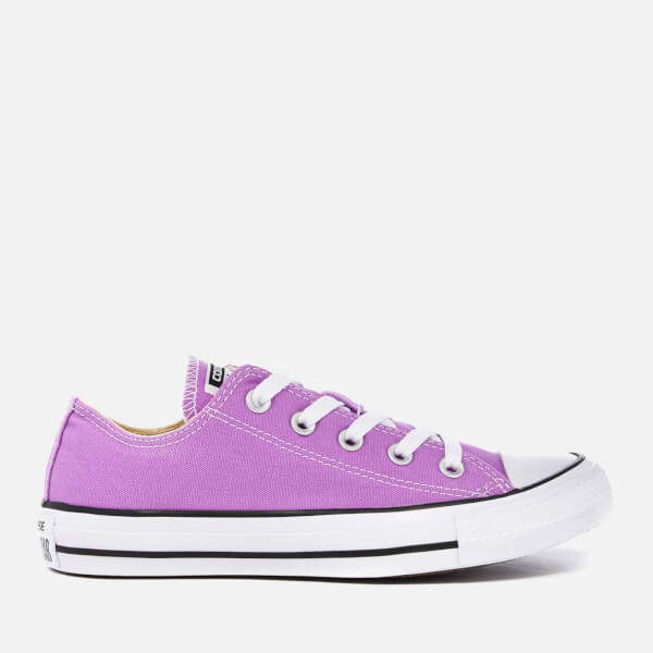 Converse Women's Chuck Taylor All Star Ox Trainers - Fuchsia Glow