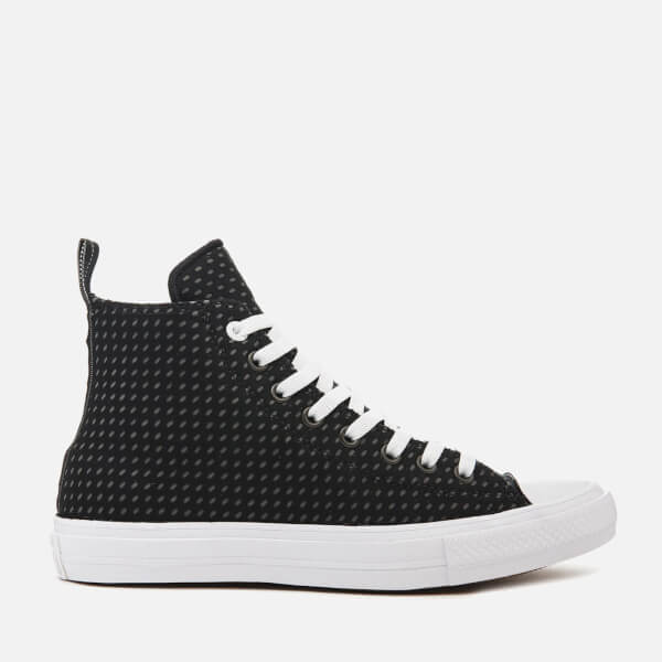 Converse Men's Chuck Taylor All Star II Hi-Top Trainers - Black/Thunder/