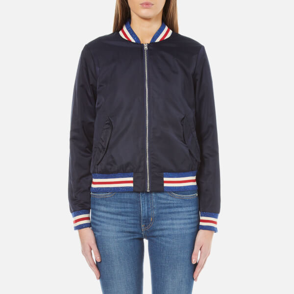 Maison Scotch Women's Bomber Jacket - Navy