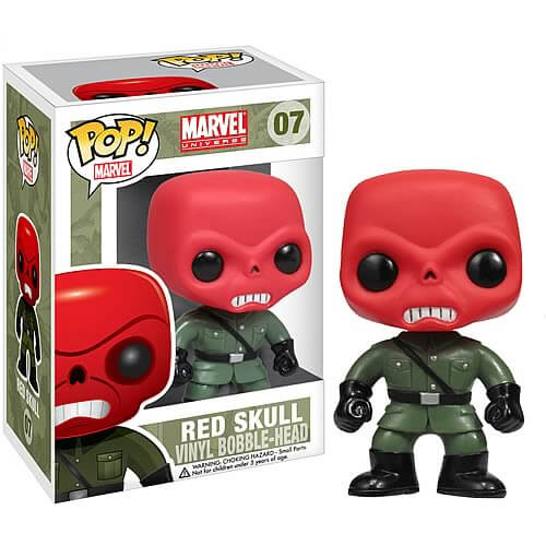 Funko Red Skull Pop! Vinyl