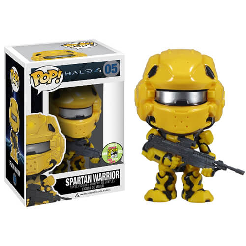 Funko Spartan Warrior (Yellow) Pop! Vinyl