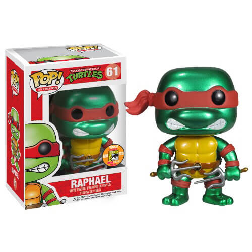 Funko Raphael (Metallic) Pop! Vinyl