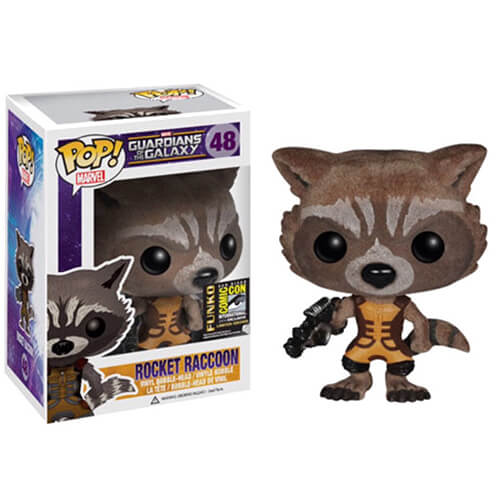 Funko Rocket Raccoon (Flocked) Pop! Vinyl