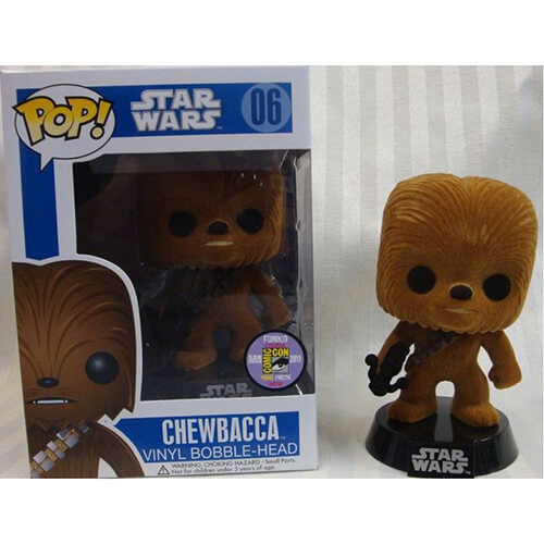 Funko Flocked Chewbacca Pop! Vinyl