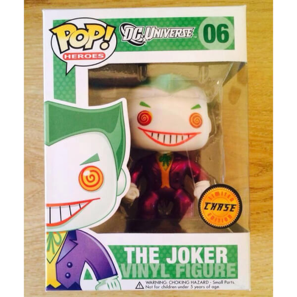 Funko The Joker (Chase Dark Suit) Pop! Vinyl