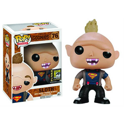 Funko Sloth Superman T Shirt Pop Vinyl Pop In A Box Us