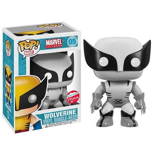 Funko Wolverine B&W (Fugitive Toys Exclusive) Pop! Vinyl
