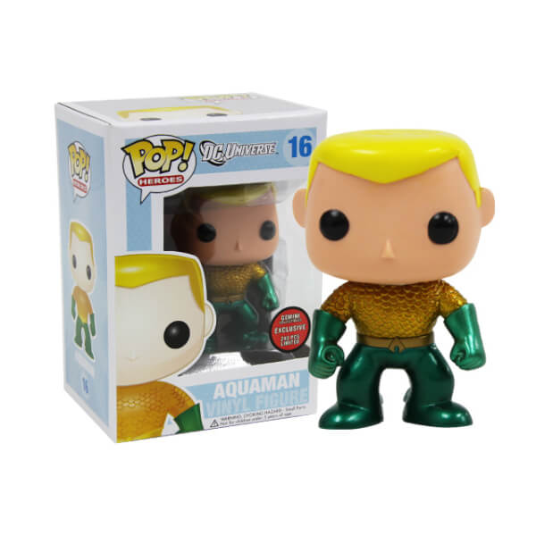 Funko Aquaman (Metallic) Pop! Vinyl