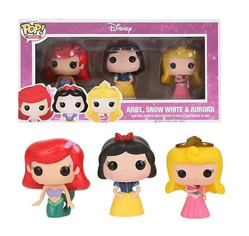 Funko Ariel, Snow White & Aurora Pop! Vinyl
