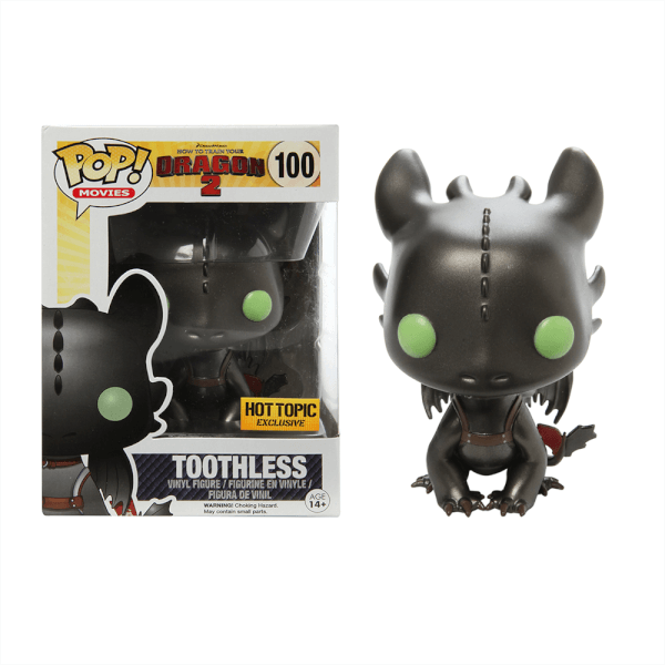 Funko Toothless (Metallic) Pop! Vinyl