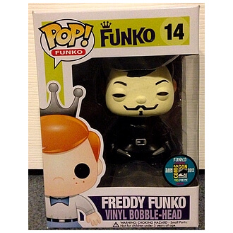 Funko V For Vendetta (Freddy) Pop! Vinyl