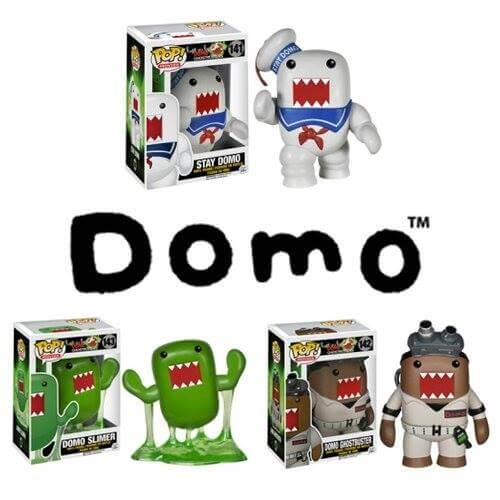 Funko Domo Set Pop! Vinyl