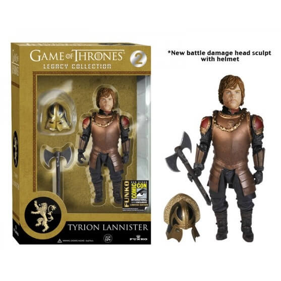Funko Tyrion Lannister (SDCC With Helment) Legacy Figures