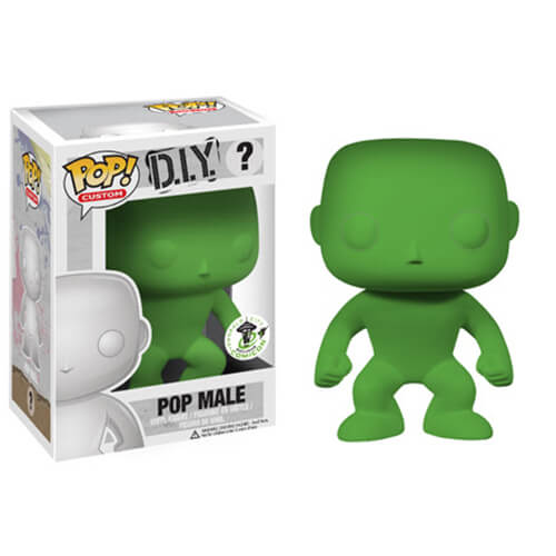 Funko Pop! Male Green Pop! Vinyl