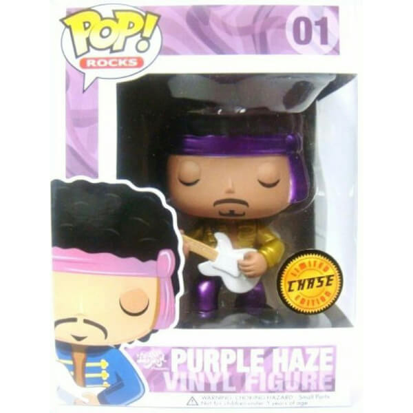 Funko Purple Haze (Metallic Chase) Pop! Vinyl