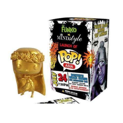Funko Gold Hula Girl Pop! Vinyl