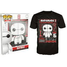 Funko Big Hero 6 Pop! Tee Baymax Tech Pop! Tees