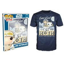 Funko M-Star Wars Pop! Tee Come Visit Hoth Pop! Tees