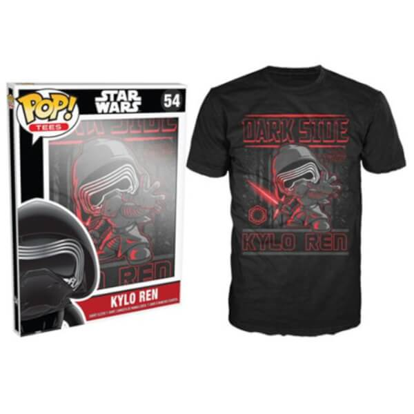 Funko Star Wars Pop! Tee Kylo Ren Pop! Tees