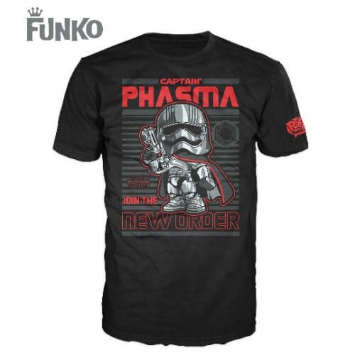 Funko Star Wars Pop! Tee Captain Phasma Pop! Tees