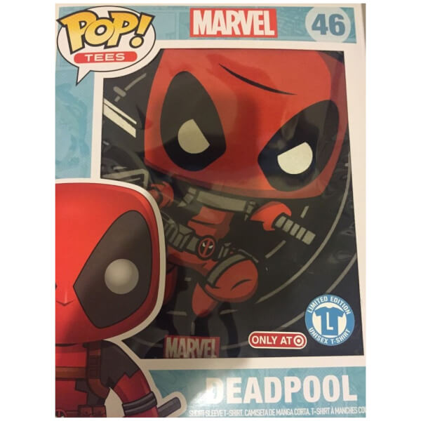 Funko Deadpool Pop! Tees