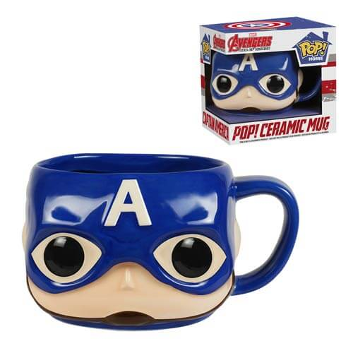 Funko Captain America Mug Pop! Home