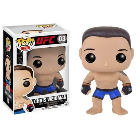 Funko Chris Weidman Pop! Vinyl