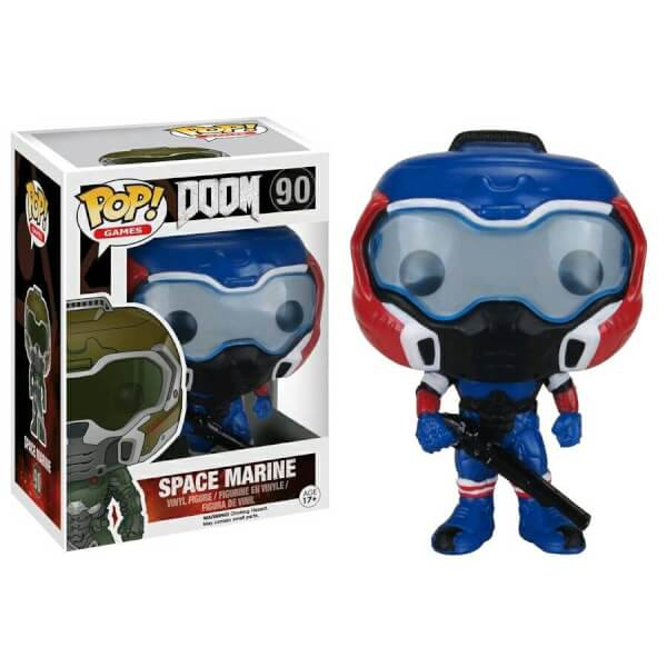 Funko Space Marine (Blue) Pop! Vinyl
