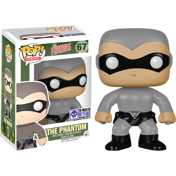Funko The Phantom (Grey) Pop! Vinyl