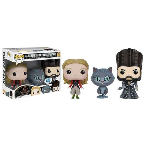 Funko Alice Through The Looking Glass Triple Pack Pop! Vinyl