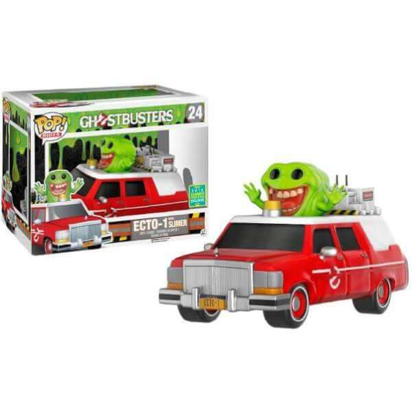 Funko Red Ecto-1 With Slimer Pop! Vinyl