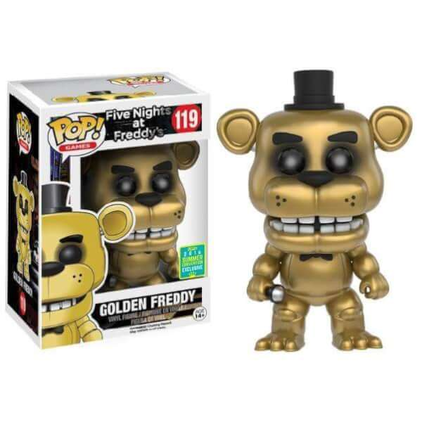 Funko Golden Freddy Pop! Vinyl