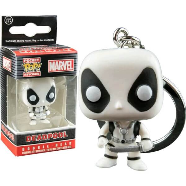 Funko Deadpool B&W Pop! Keychain
