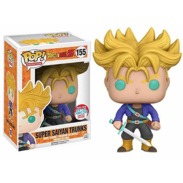 Funko Super Saiyan Trunks Pop! Vinyl
