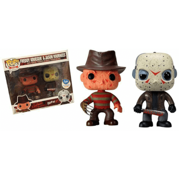 Funko Freddy Krueger & Jason Voorhees (2-Pack) Pop! Vinyl