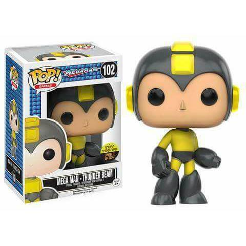 Funko Mega Man - Thunder Beam Pop! Vinyl