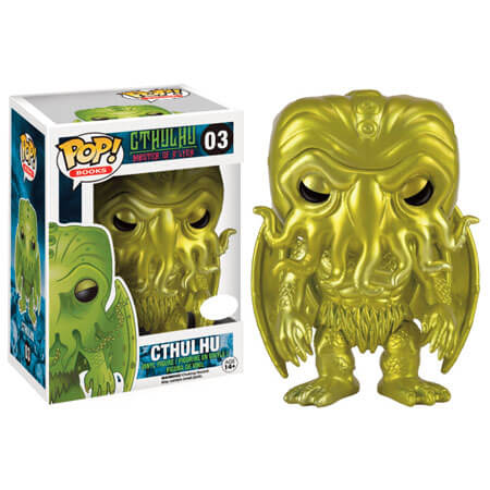Funko Cthulhu (Golden Metallic) Pop! Vinyl