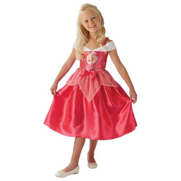 Disney Girls' Sleeping Beauty Fancy Dress Costume