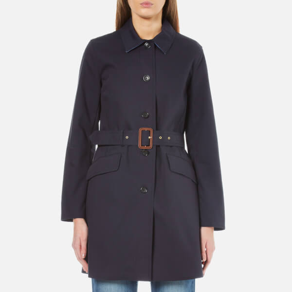 MICHAEL MICHAEL KORS Women's Two Tone Trench Coat - Oxford Blue