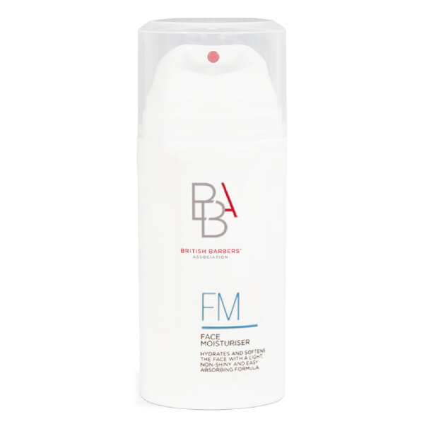British Barbers' Association Face Moisturiser 100ml