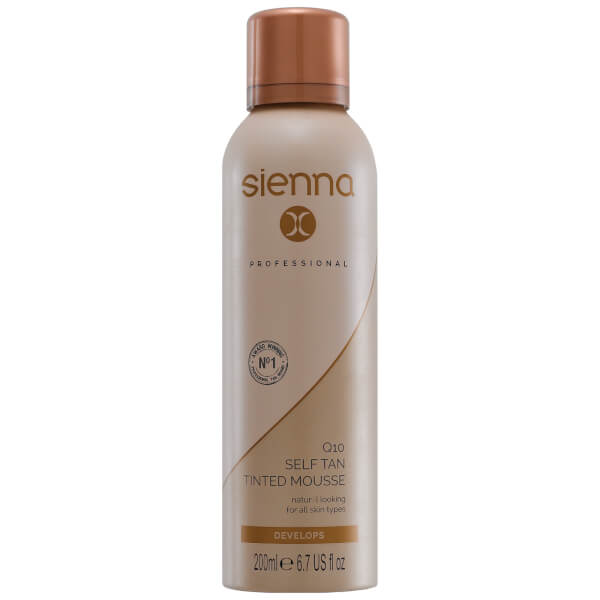 Sienna X Q10 Self Tan Mousse 200ml