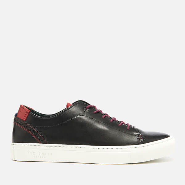 Burnished Leather Trainers Ted Baker Geniue Stockist For Sale Browse Sale Online 81SjsDtX1W