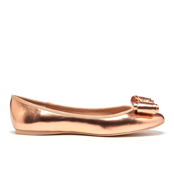 Ted Baker Women's Immet Ballet Flats - Rose Gold: Image 1
